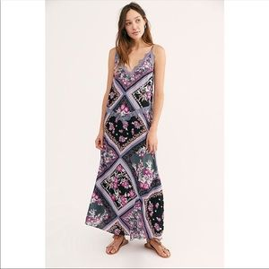 NWT Free People Stevie printed maxi dress size Med